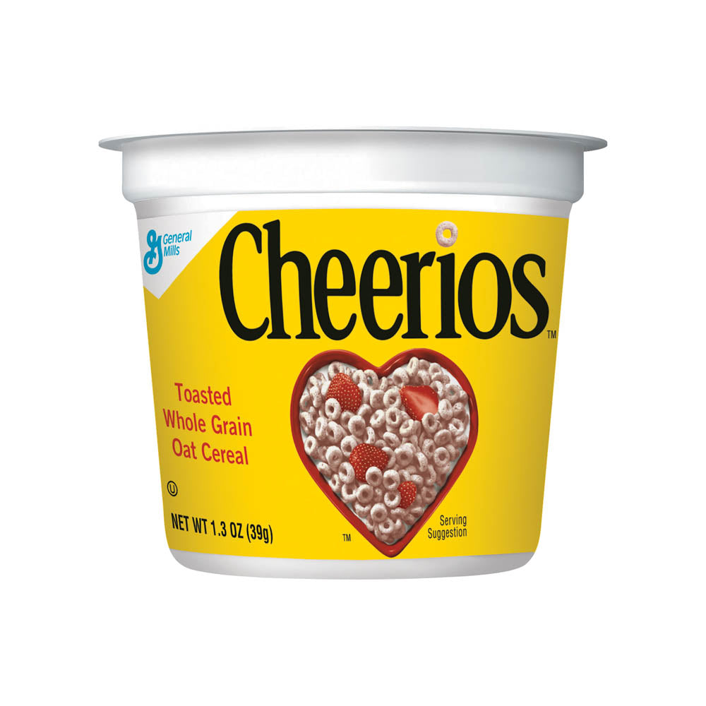 Cheerios in a Cup, 1.3 oz, 6 Cups/PK