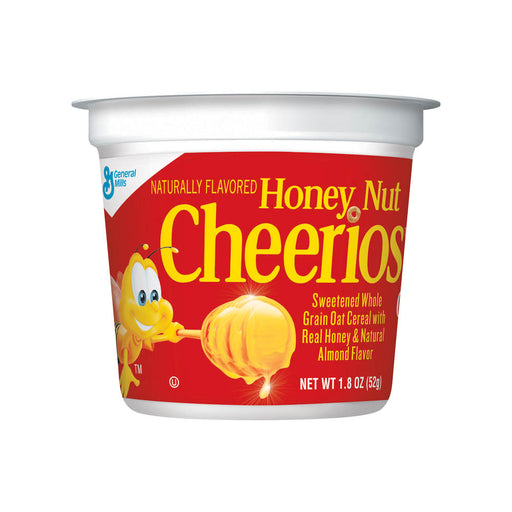 Honey Nut Cheerios in a Cup, 1.8 oz, 6/PK