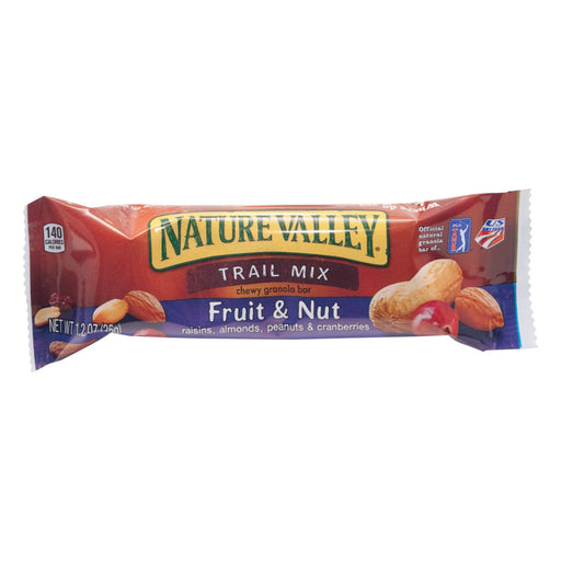 Nature Valley Chewy Trail Mix Bar, Fruit & Nut, 1.2 oz, 16/BX