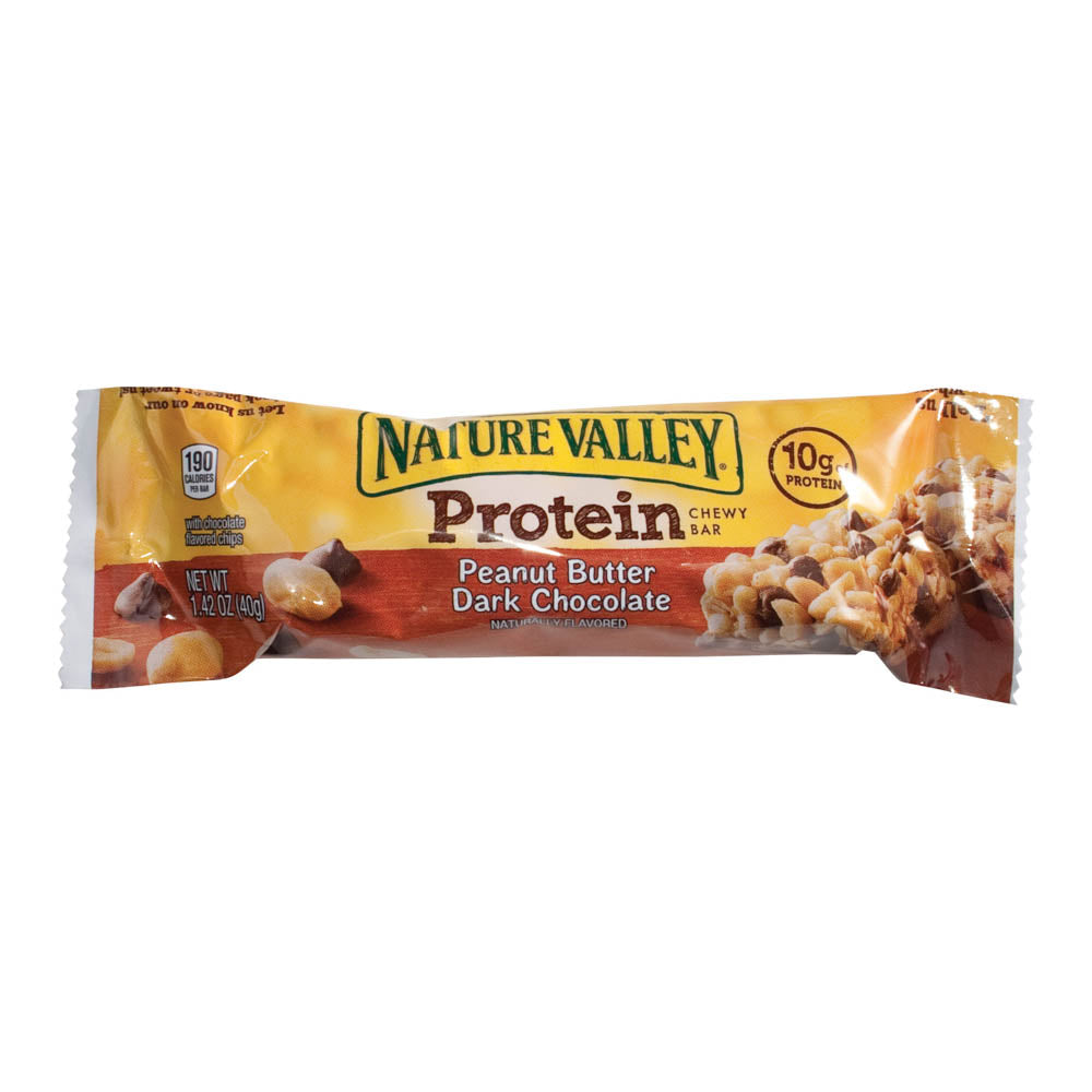 Nature Valley Protein Bar, Peanut Butter Dark Chocolate, 1.42oz, 16/BX