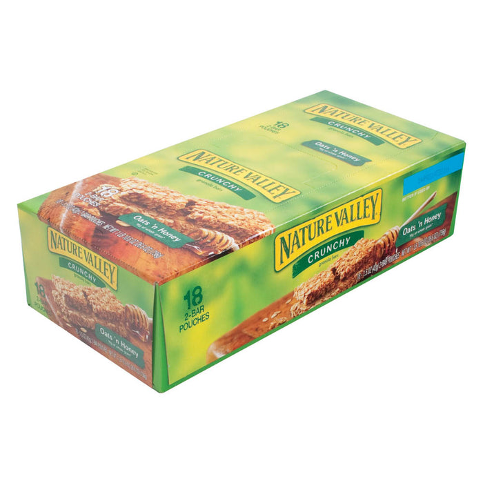 Nature Valley Crunchy Granola Bar, Oats & Honey, 1.5 oz, 18/BX