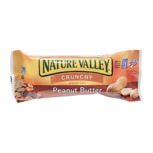 Nature Valley Crunchy Granola Bar, Peanut Butter, 1.5 oz, 18/BX