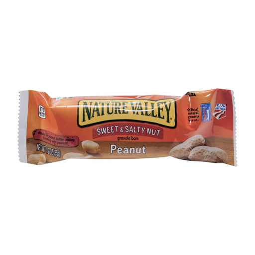 Nature Valley Sweet & Salty Nut Granola Bar, Peanut, 1.2 oz, 16/BX