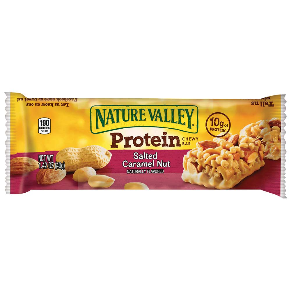 Nature Valley Salted Caramel Protein Bar, 1.42oz, 16/box
