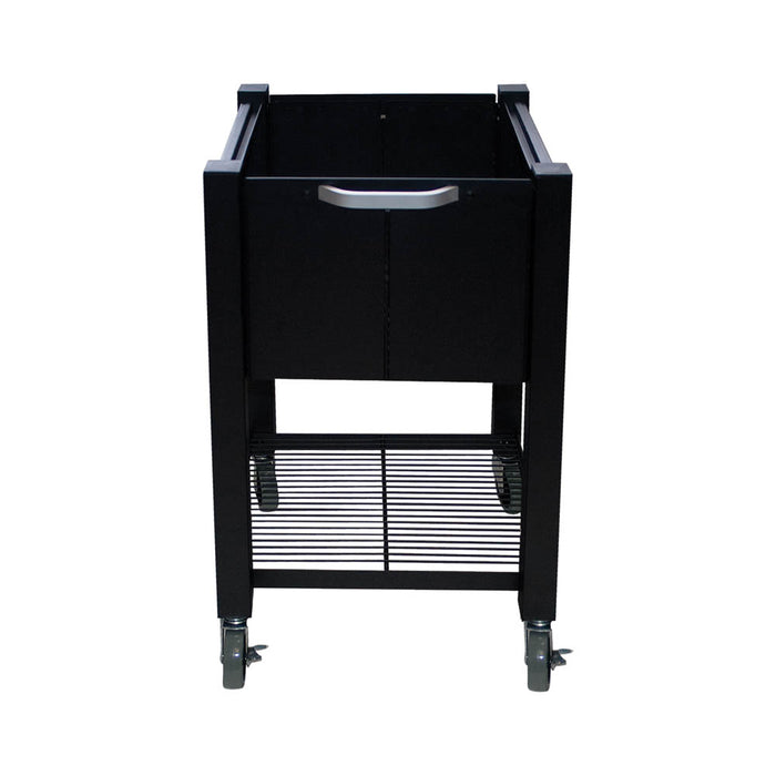 Vertiflex InstaCart, Open Top File Cart, Black