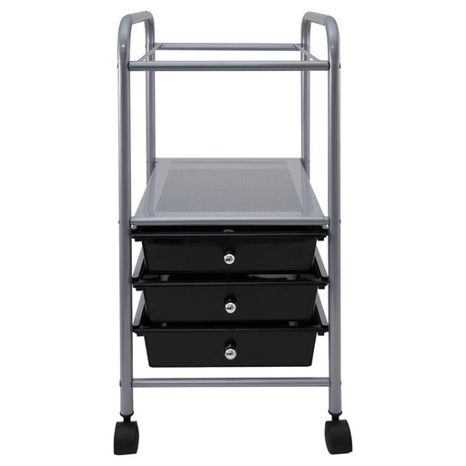 Vertiflex Slim Profile Mobile File Cart