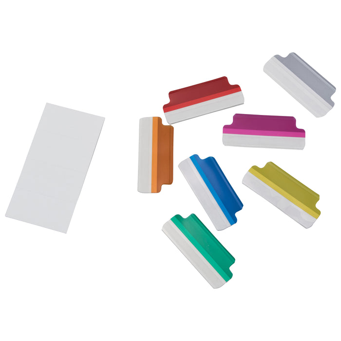 Z International Index Tabs, Assorted, 16 Tabs