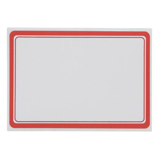 Z International Red Border Labels, 2¼ x 3¼, 30 Labels