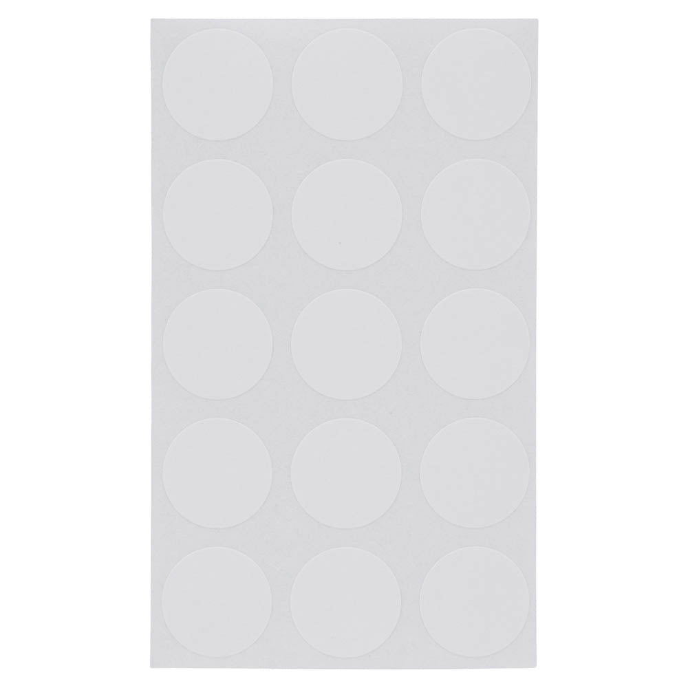 Z International Multi Purpose Labels, White, ¾ Dia, 510 Labels