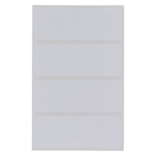 Z International Multi Purpose Labels, White, 1 x 2¾, 128 Labels