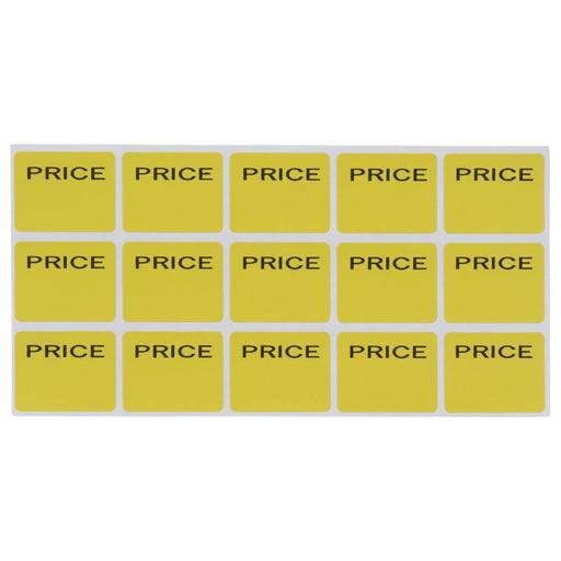 Z International Garage Sale Pricemark Labels, 180 Labels