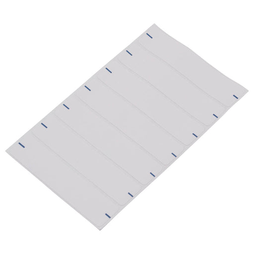 Z International File Folder Labels, White, 9/16 x 2¾, 154 Labels