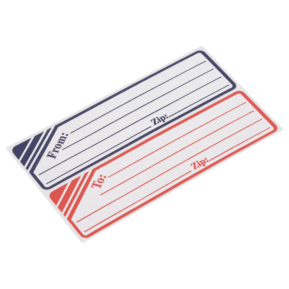 Z International Parcel Post Labels, 25 Labels