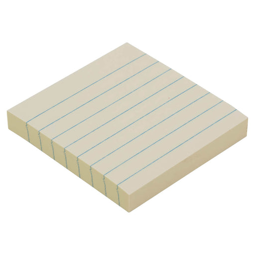 Z International Yellow Ruled Notes Pad, 3 x 3, 100 Sheet/Pad