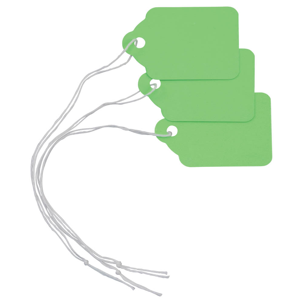 Z International Neon Green String Mark, 100/PK