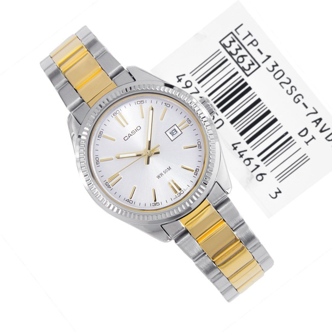 Casio 7av Ladies Enticer Analog Watch Ltp 1302sg 7a NyvOPmwn80