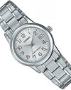LTP-V002D-7B Casio Quartz Date Analog Female Casual Watch