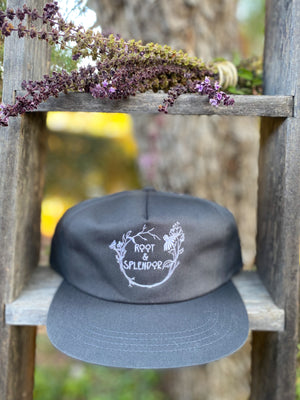 Root and Splendor Embroidered Hat