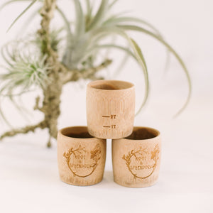 Bamboo Measuring Cup
