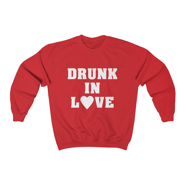 Drunk in Love Unisex Heavy Blend™ Crewneck Sweatshirt Apparel - Lavished Collection