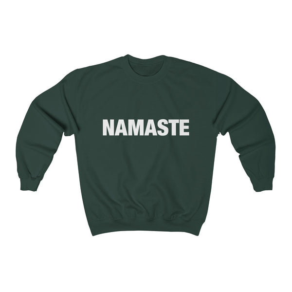Namaste Unisex Heavy Blend™ Crewneck Sweatshirt - lavished-collection