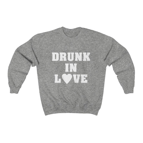 Drunk in Love Unisex Heavy Blend™ Crewneck Sweatshirt - lavished-collection