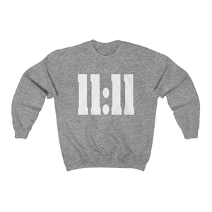 '11:11' Unisex Heavy Blend™ Crewneck Sweatshirt - lavished-collection