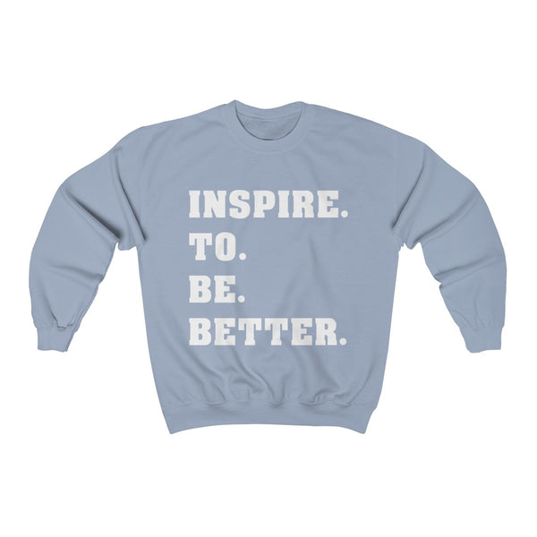 Inspire to be Better Unisex Heavy Blend™ Crewneck Sweatshirt - lavished-collection