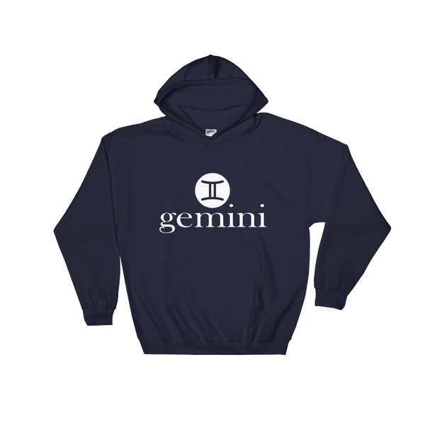 """Gemini"" Unisex Hooded Sweatshirt Apparel - Lavished Collection"