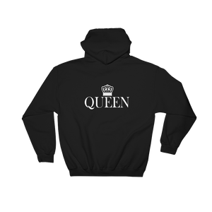 Queen- Back Printed Hoodie - lavished-collection