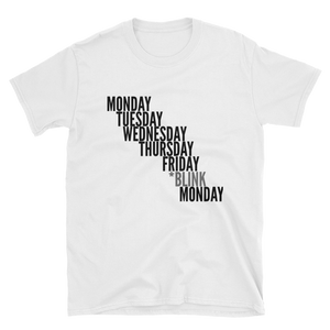 Blink Monday Short-Sleeve Unisex T-Shirt - lavished-collection