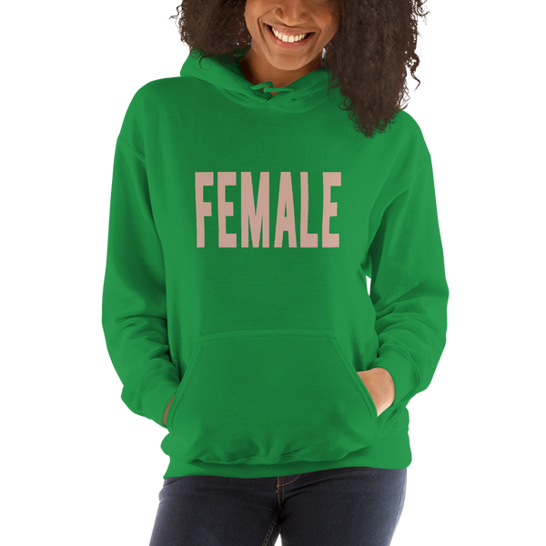 Female- Heavy Blend Hooded Sweatshirt - lavished-collection