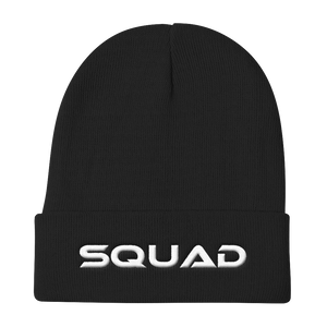 """Squad"" Knit Beanie Hats - Lavished Collection"