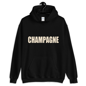 Champagne Hooded Sweatshirt - lavished-collection