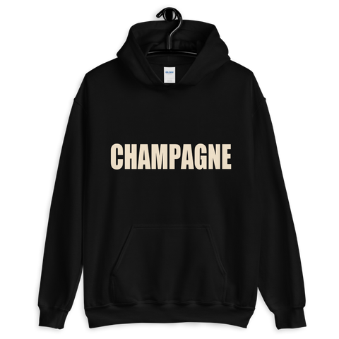 Champagne -Hooded Sweatshirt - lavished-collection