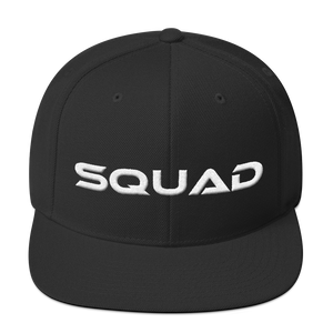 """Squad"" Snapback Hat Hats - Lavished Collection"