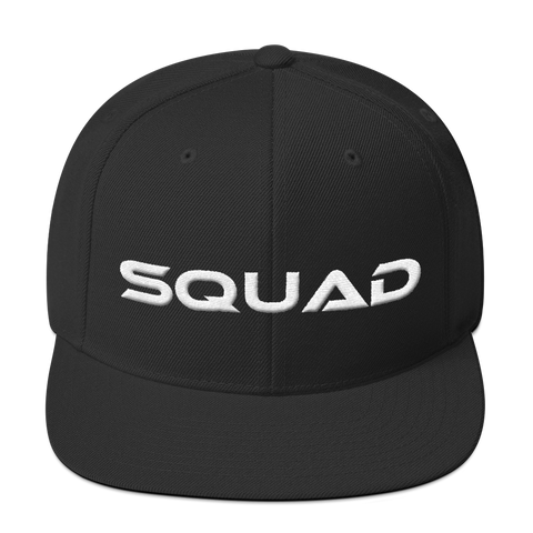 Squad-Snapback Hat - lavished-collection