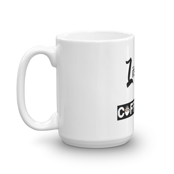 """Life begins after coffee"" Mug - lavished-collection"