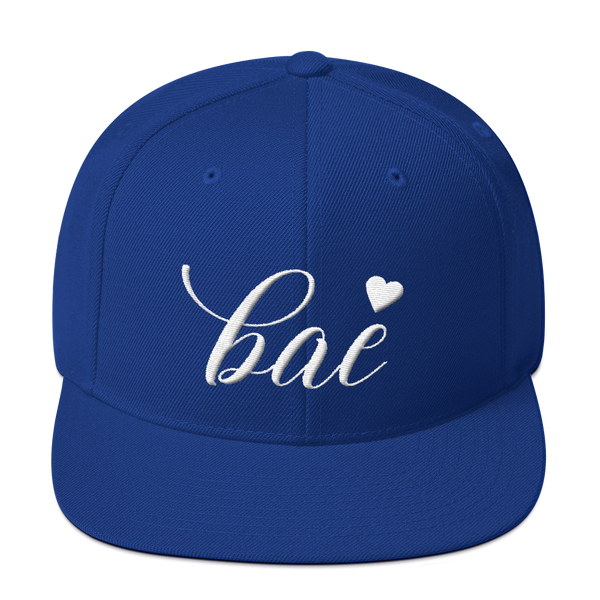 """Bae"" Snapback Hat Hats - Lavished Collection"