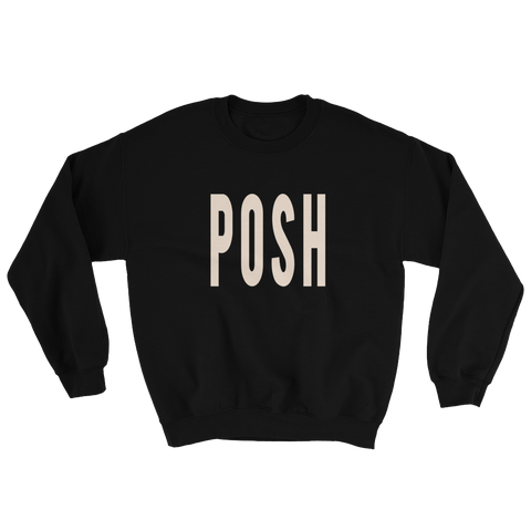 Posh -Crewneck Sweatshirt - lavished-collection