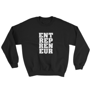 """Entrepreneur"" Unisex Crewneck Sweatshirt Apparel - Lavished Collection"