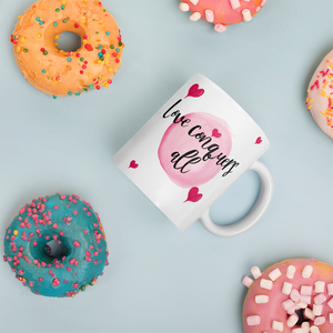 Love Conquers All Mug Home & Decor - Lavished Collection