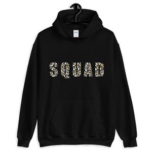 Squad Leopard Print- Hooded Sweatshirt - lavished-collection