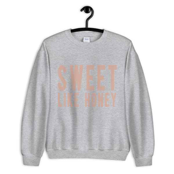 Sweet Like Honey -Crewneck Sweatshirt - lavished-collection