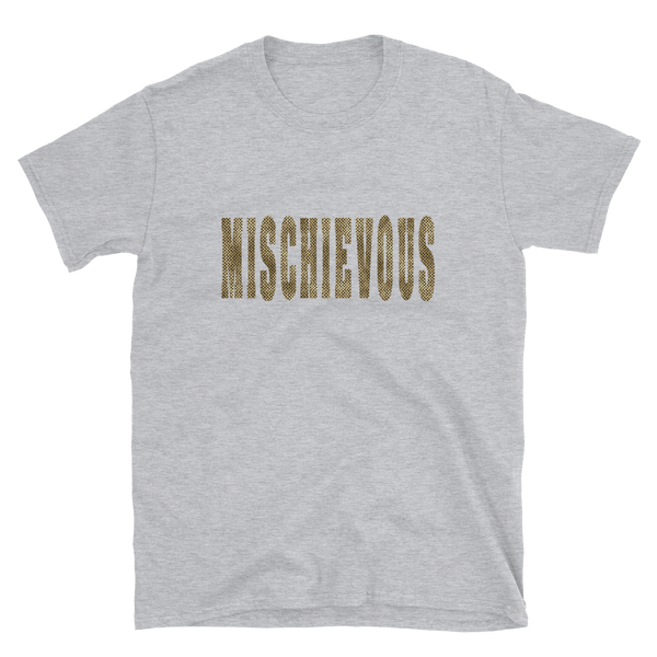 Mischievous - Animal Print Women's Tee - lavished-collection