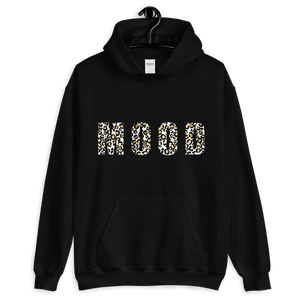 Mood Leopard Print -Hooded Sweatshirt - lavished-collection