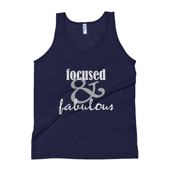 """Focused & Fabulous"" Women's Tank Top Apparel - Lavished Collection"