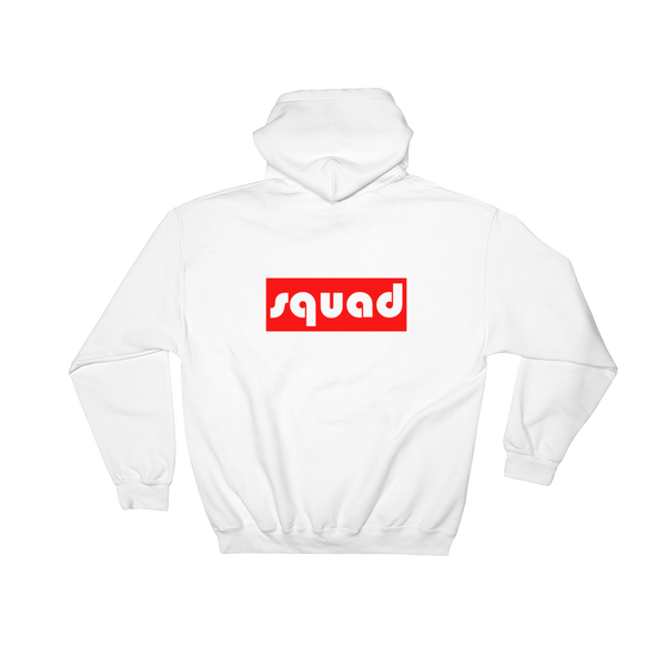 Squad- Back Printed Hoodie - lavished-collection