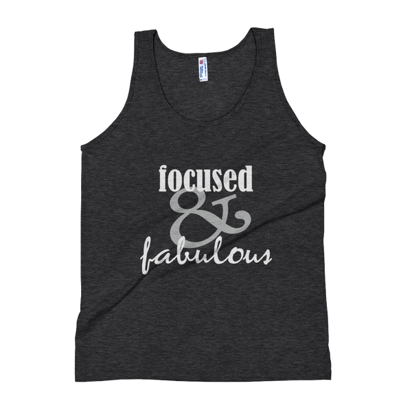 Focused & Fabulous - Women's Tank Top - lavished-collection