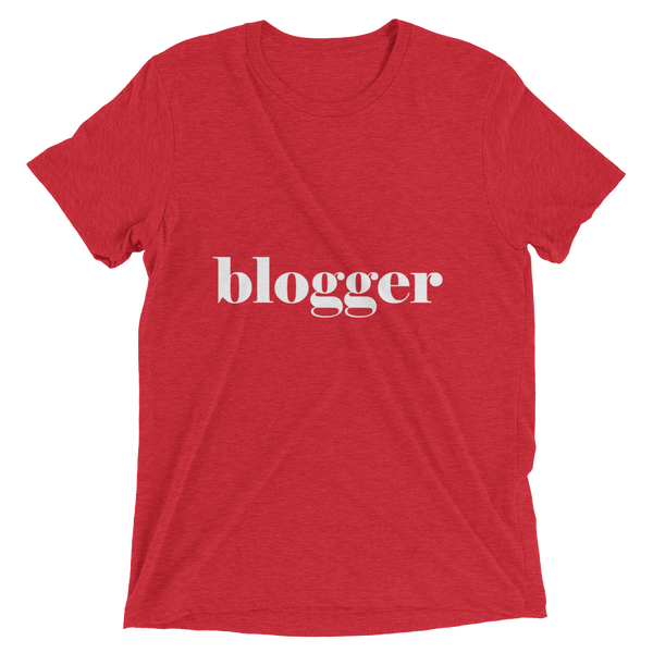 """Blogger"" Short sleeve t-shirt Apparel - Lavished Collection"